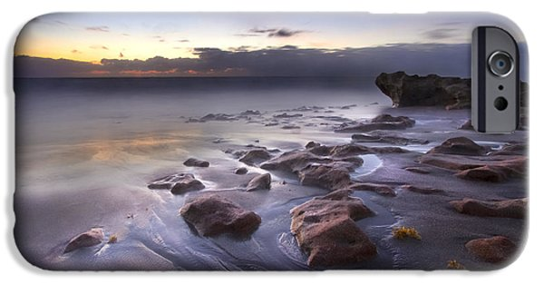 Dave iPhone Cases - Stepping Stones iPhone Case by Debra and Dave Vanderlaan