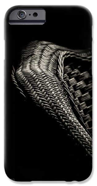 Wicker iPhone Cases - Still And Woven iPhone Case by Bob Orsillo
