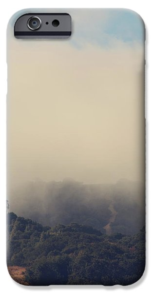 Mist iPhone Cases - Still Hanging On iPhone Case by Laurie Search