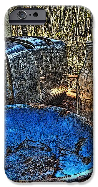 Still Life with Blue Plate Special iPhone Case by William Fields