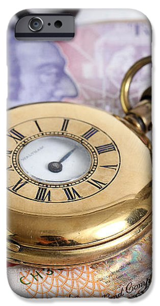 Still Life With Pocket Watch, Key iPhone Case by Photo Researchers