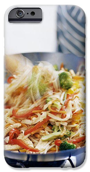 Stir Fry iPhone Case by David Munns