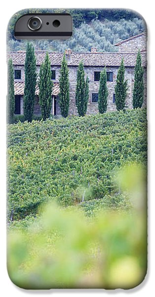 Stone Farmhouse and Vineyard iPhone Case by Jeremy Woodhouse