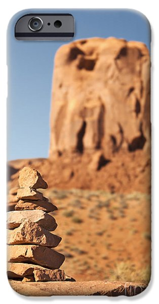Stone stack. iPhone Case by Jane Rix