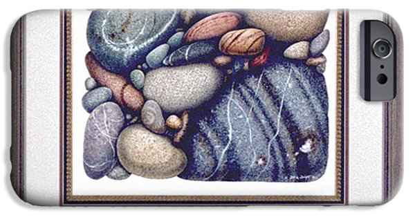 Duluth iPhone Cases - Stone Study iPhone Case by JQ Licensing