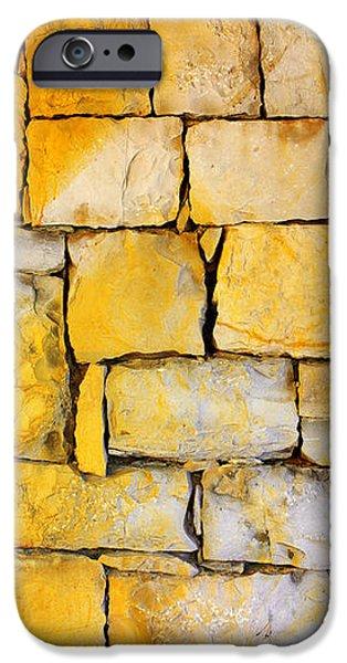 Stone Wall iPhone Case by Carlos Caetano