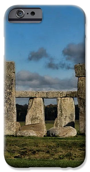 Stonehenge iPhone Case by Heather Applegate