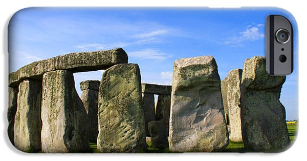 World No. 1 iPhone Cases - Stonehenge No 1 iPhone Case by Kamil Swiatek