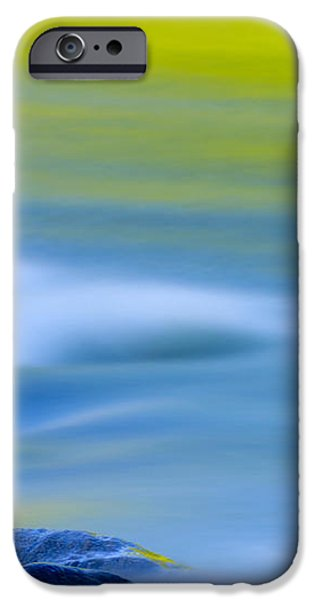 Stones in River iPhone Case by Silke Magino