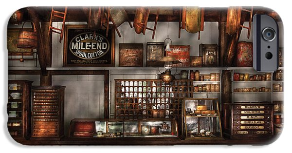 Buy Goods iPhone Cases - Store - Old Fashioned Super Store iPhone Case by Mike Savad