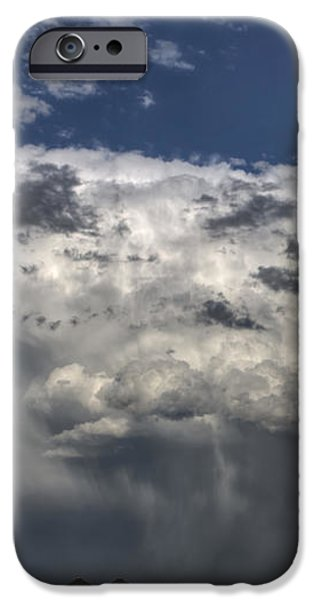 Storm Clouds thunderhead iPhone Case by Mark Duffy