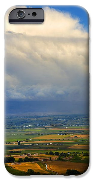 Storm over the Kittitas Valley iPhone Case by Mike  Dawson