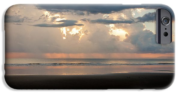 Jaco iPhone Cases - Storm Sunset iPhone Case by Anthony Doudt