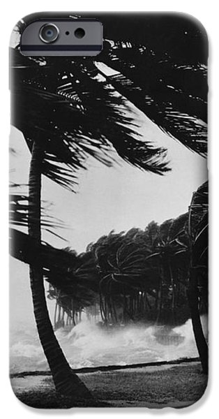 Storm Surge iPhone Case by Omikron