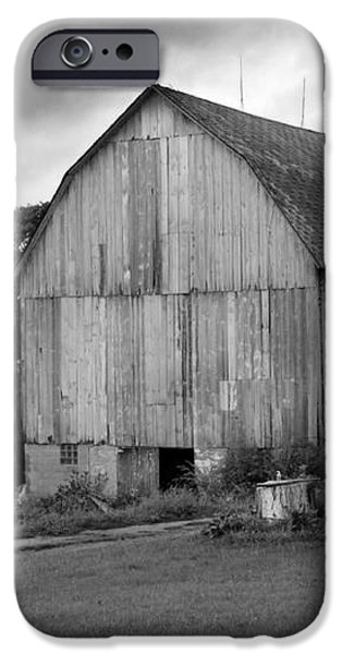 Stormy Barn iPhone Case by Perry Webster