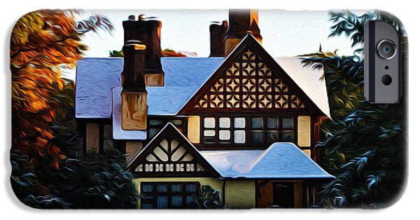 Storybook iPhone Cases - Storybook House iPhone Case by Bill Cannon