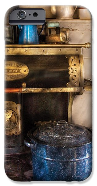 Stove - The Stove iPhone Case by Mike Savad