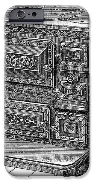 STOVE, 1876 iPhone Case by Granger