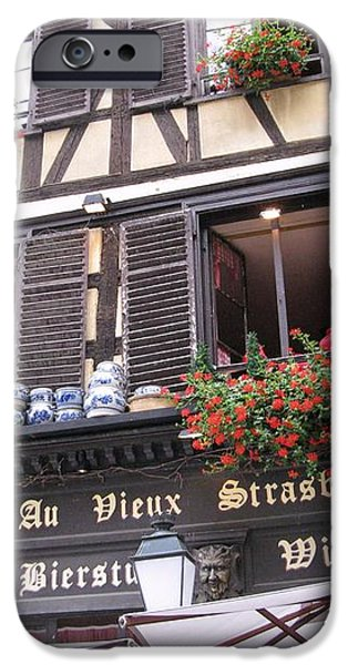 Strasbourg iPhone Case by Arlene Carmel