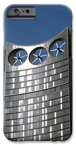 Stratum iPhone Cases - Strata Skyscraper iPhone Case by Martin Bond