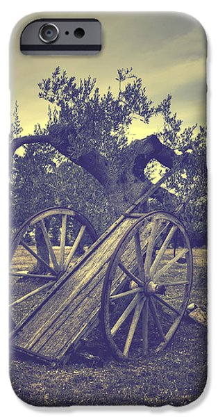 Straw iPhone Cases - Straw Cart iPhone Case by Joana Kruse