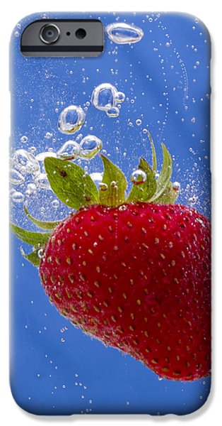 Strawberry Soda Dunk 3 iPhone Case by John Brueske