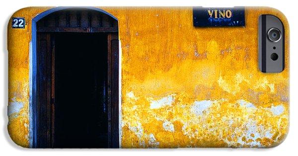 Vino Photographs iPhone Cases - Street Scene La Antigua iPhone Case by Thomas R Fletcher