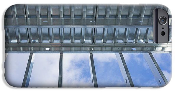 Metal Sheet iPhone Cases - Structural Steel Construction Of An iPhone Case by Don Mason