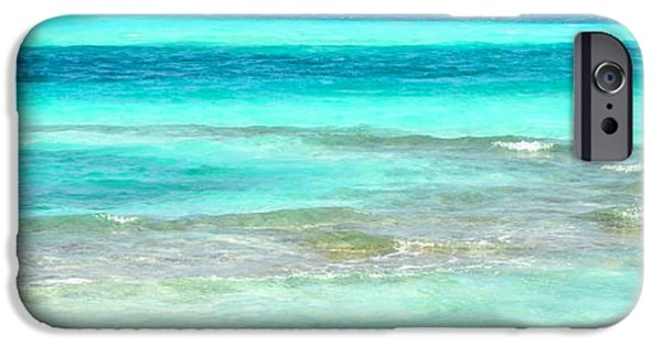 Sea iPhone Cases - Study in Blue iPhone Case by Corinne Rhode
