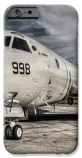 Submarine Hunter iPhone Case by Ryan Wyckoff
