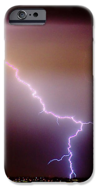 Subsequent Electrical Transfer iPhone Case by James BO  Insogna