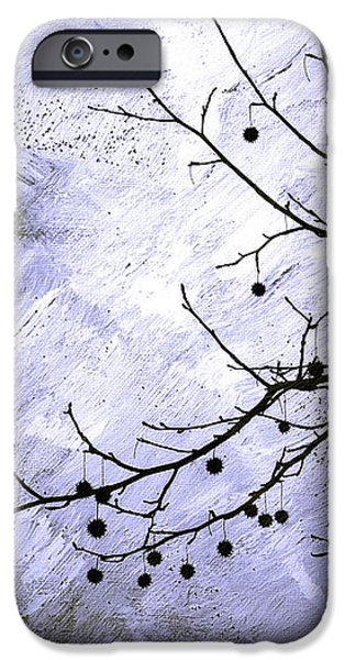 Sudden Snowstorm iPhone Case by Judi Bagwell