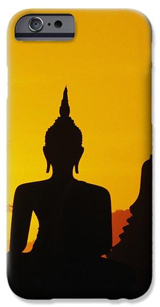 Sukhothai Temple iPhone Case by Gloria & Richard Maschmeyer - Printscapes