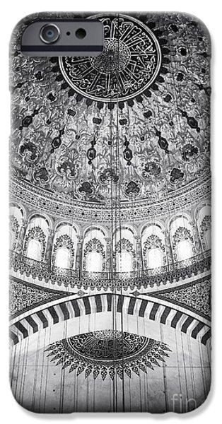 Suleymaniye Ceiling iPhone Case by John Rizzuto