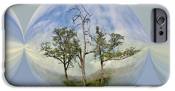 Smokey Mountains iPhone Cases - Summer Dreams iPhone Case by Debra and Dave Vanderlaan