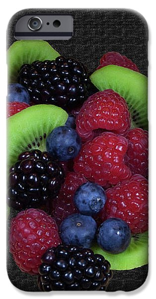 Summer Fruit Medley iPhone Case by Michael Waters