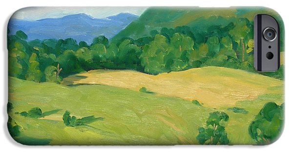 Recently Sold -  - Tree Art Print iPhone Cases - Summer Idyll Berkshires iPhone Case by Thor Wickstrom