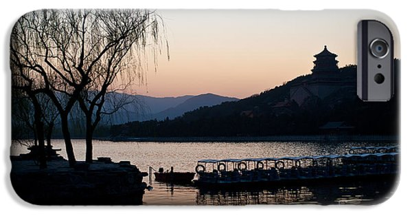 Beijing iPhone Cases - Summer Palace Evening iPhone Case by Mike Reid