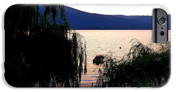 Willow Lake iPhone Cases - Summer Solitude iPhone Case by Will Borden