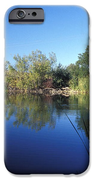 Summertime Reflections iPhone Case by Kathy Yates