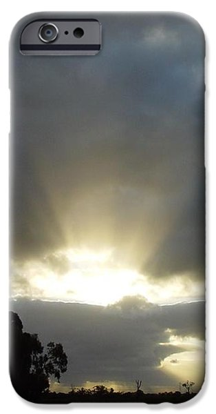 Sun Beams iPhone Case by Paul Van Scott