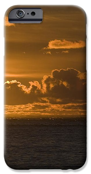 Sun Setting On The Ocean With The iPhone Case by Michael Interisano