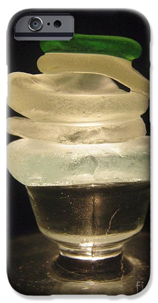 Sea Glass Art iPhone Cases - Zen Light iPhone Case by Kristine Nora