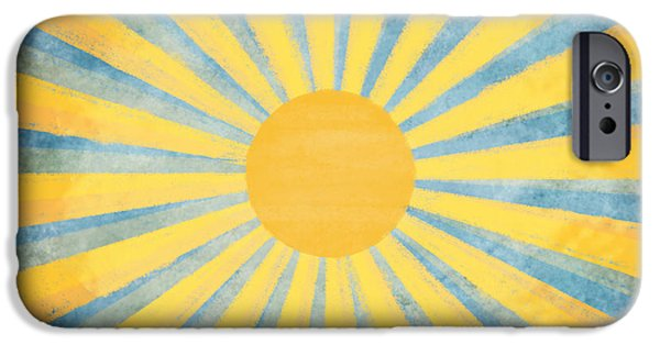 Temperature iPhone Cases - Sunny Day iPhone Case by Setsiri Silapasuwanchai