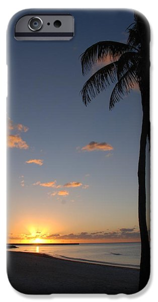 Fl iPhone Cases - Sunrise in Key West 2 iPhone Case by Susanne Van Hulst