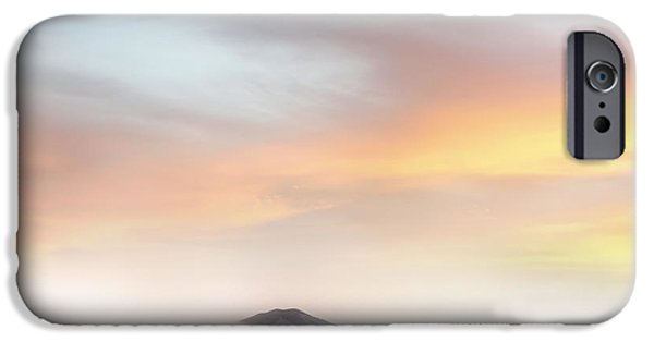 Cloudscape Photographs iPhone Cases - Sunrise iPhone Case by Les Cunliffe