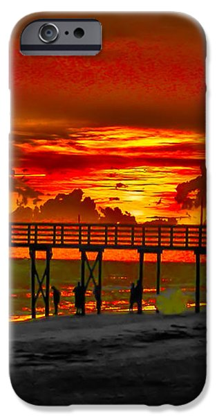 Sunset 4th of July iPhone Case by Bill Cannon