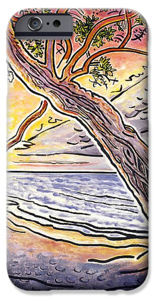 Sunset at Anaehoomalu Bay iPhone Case by Fay Biegun - Printscapes
