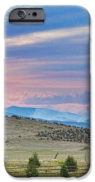 Sunset at the Colorado High Park Wildfire  iPhone Case by James BO  Insogna