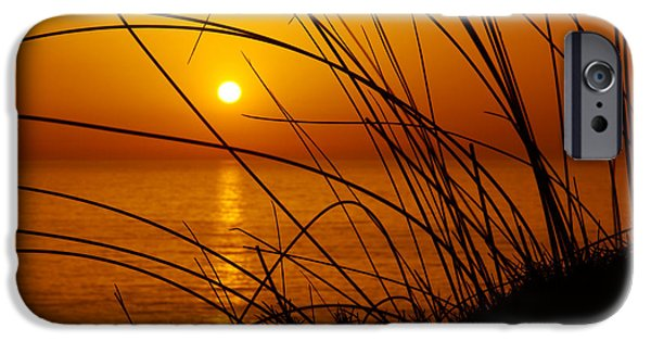 Straw iPhone Cases - Sunset iPhone Case by Carlos Caetano
